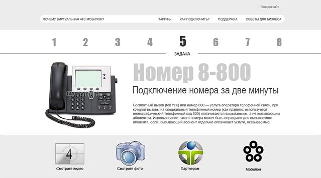 Телефонный номера с виртуальной атс